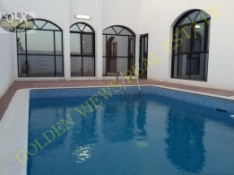 Hidd 3 BR semi furnished villa with private pool,garden - inclusive