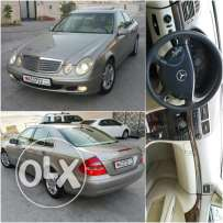 Mercedes E200 4cylinder almost new Bahrain agency used by a lady