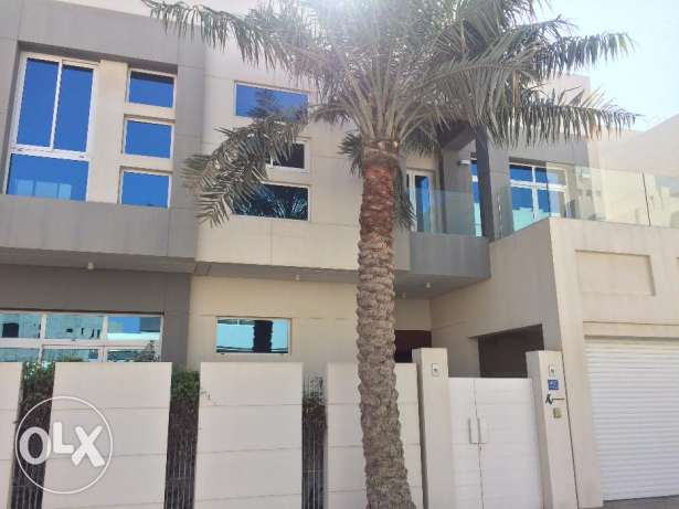 Saar modern 4 bedroom semi furnished private villa with pool,garage