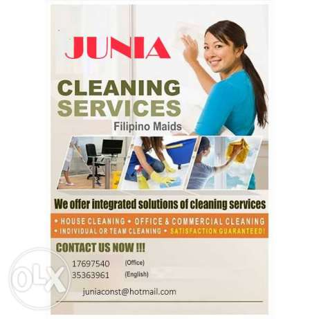 per hour cleaning services