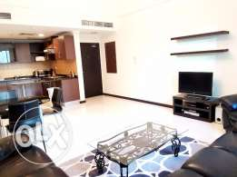 ONLY 400BHD!!! Fully Furnished and Modern 1BR in Heart of Juffair Area