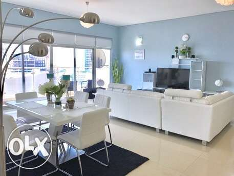 2br Flat For rent in Amwaj island:Lagoon view