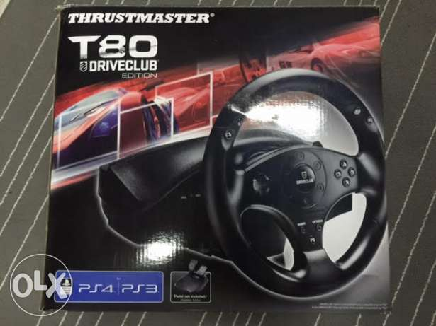 Thrustmaster T80 Driveclub Edition Racing Wheel PS4/ PS3