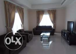 Cute 3 bedroom semi furnished villa with private pool close to causewa