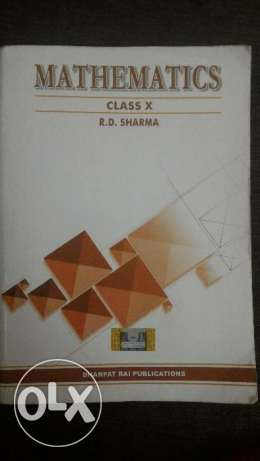 Rd Sharma class 10 Math guide for sale