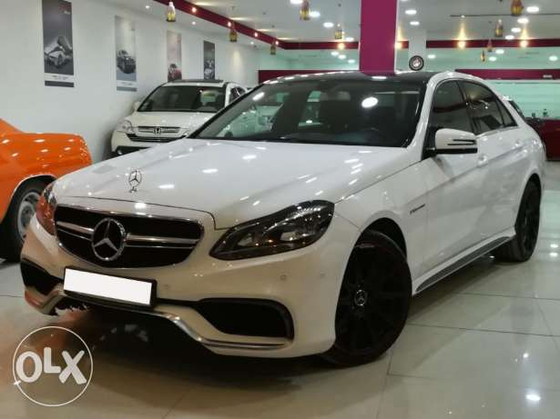 Mercedes-Benz E200 Model 2014 E63 Body Kit