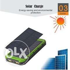 solar power bank . capacity : 8000 mah