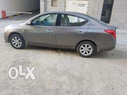 Nissan sunny 2014 full option
