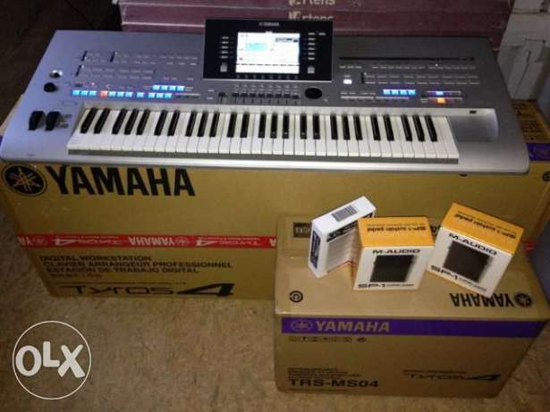 Yamaha Tyros4 Arranger Workstation