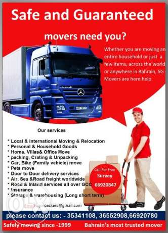 Safe and Guaranteed Moving company