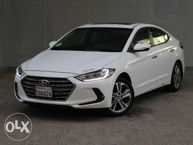 Hyunday Elantra 2017 White For Sale