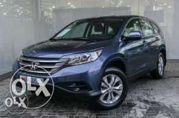 Honda CR-V LX 2014 5Dr blue