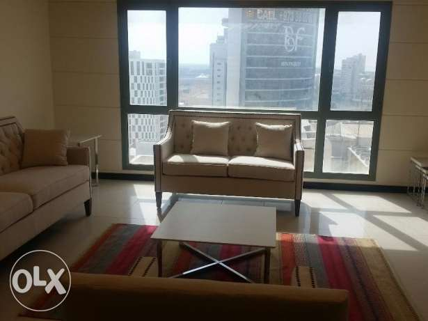 New bright and spacious fully furnished apartment with nice city-view
