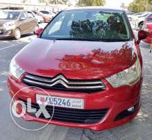 Fully loaded Citroen C4 agent maintained