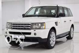 Range Rover Sport Supercharged 2007 white