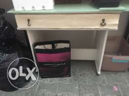 Study desk table and cupboard for sale