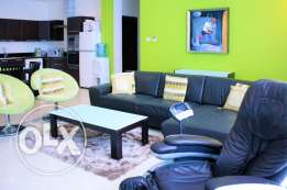 A Colorful 2 Bedroom Apartment in Juffair for rent