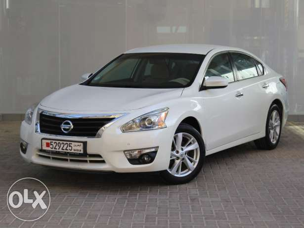 Nissan ALTIMA 2.5L SV 2015 White For Sale