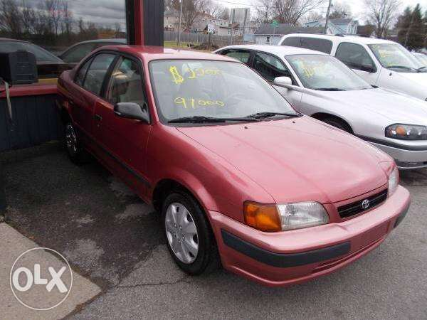 For sale Toyota Tercel 1997 Very Low Milege