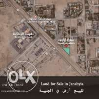 Land for sale in the Janabyia