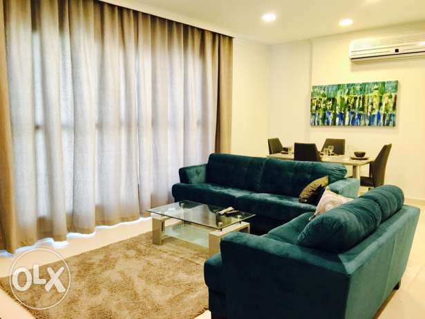 Brand new,Two bedrooms apartment in Janabiya.
