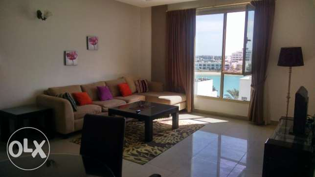 Sea View 2 BR Fully Furnished Apartment in Amwaj