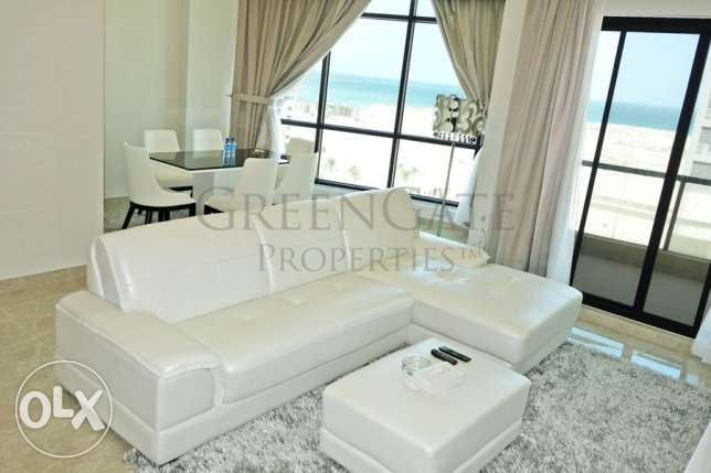 Luxury 2br Apt with Balcony and Sea View