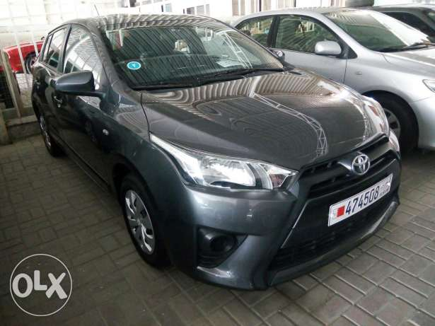 Yaris 2015 monthly installment available through Bank