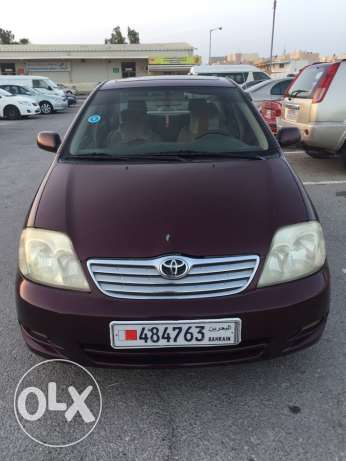 for sale toyota corolla model 2004
