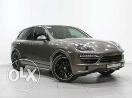 Porsche Approved Cayenne S Tiptronic Umber 2012 MY