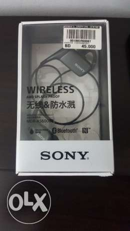 For Sale Sony Wireless Earphones SplashProof