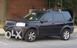 For quickly sale dark blue Land Rover Freelander USA made 2003