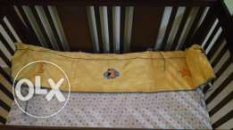 Baby cot (Bed) + New mattress+ New sheet+ baby cot protection