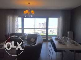Brand new Two bedrooms Luxury apartment in Amwaj-Island .