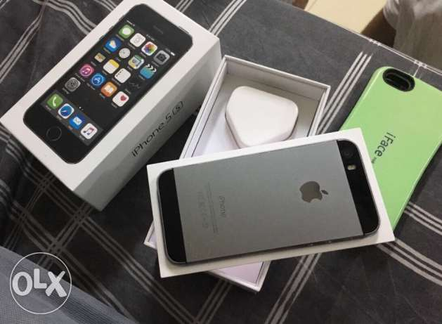 Iphone 5s 16gb grey.black