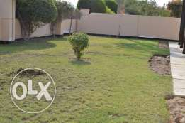 4 BR semi furnished villa for rent with private garden,all amenities