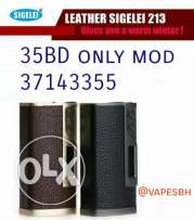 Orginal new sigelei 213 leather mod box