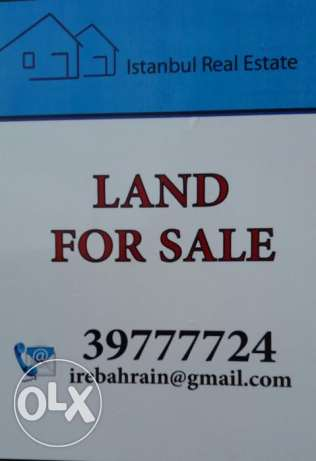 B4 Land for sale in Janabiya BHD.187,000/-