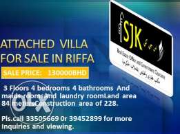 New villa for sale in Riffa