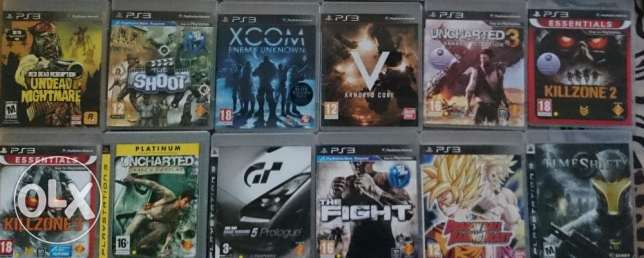 PS3 Games collection for sale المنامة -  3