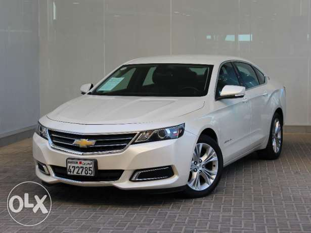Chevrolet Impala 3.6L V6 LT 2014 White For Sale