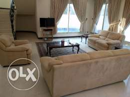 4 Bedroom semi furnished villa with private pool,garage Ref no ACV173