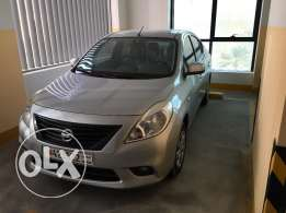 Nissan Sunny 2012, 80.5k, 1.6L engine, NO PASSING, 10 months insurance