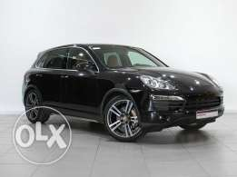 Porsche Approved Cayenne S Tiptronic BLACK