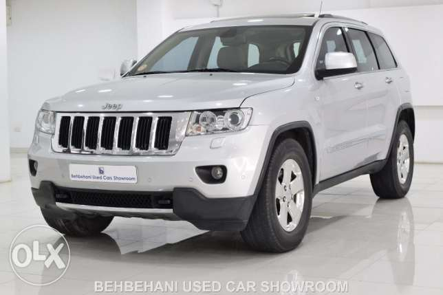 JEEP GRAND CHEROKEE 4X4 LIMITED 2011 for sale in Bahrain