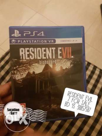 Resident Evil for Sale or Exchange