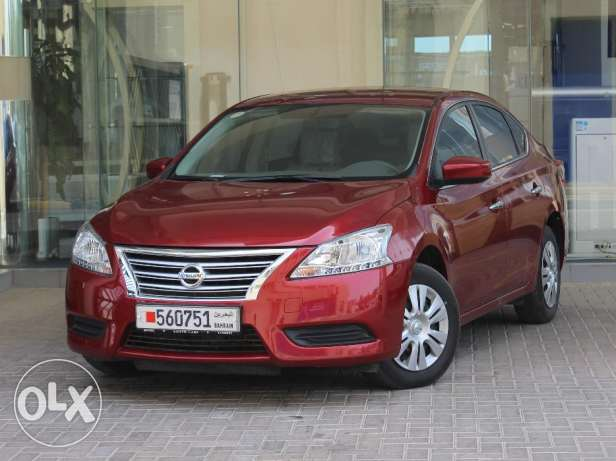 Nissan Sentra 2016 Red For Sale للبيع