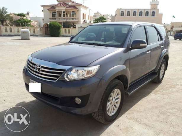 Toyota Fortuner - 2013 model, Full options (4 Cylinder) Excellent Cond