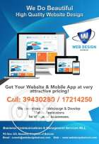 Professional Website Development and mobile apps.