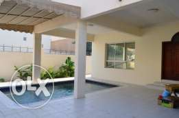 Zinj- 5BDR Furnished Villa with pool/2 car parking/outside Kitchen